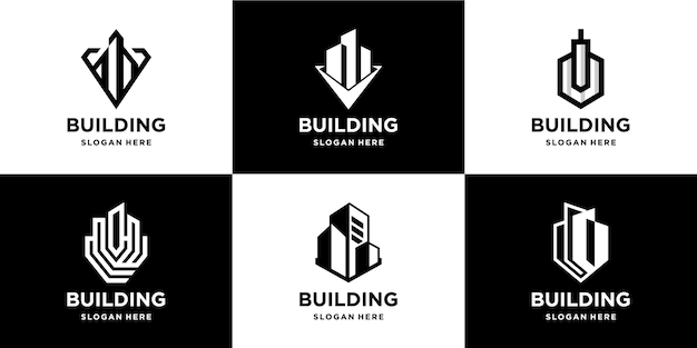 Building realty bundle logo