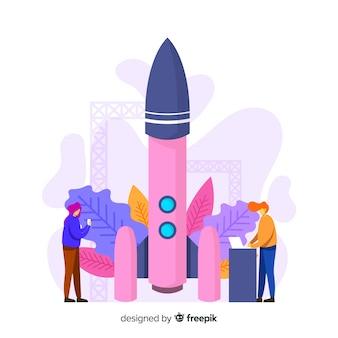 Costruire il concetto di razzo