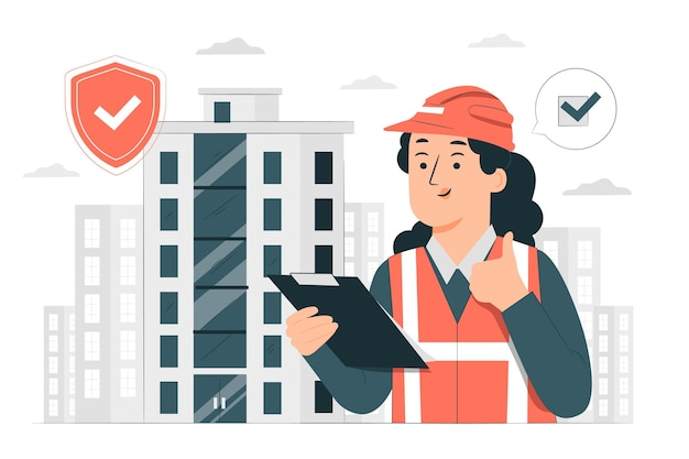 建物の安全概念図