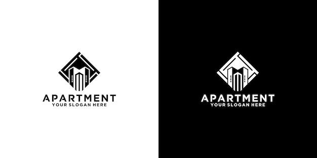 Вдохновение для дизайна логотипа здания
