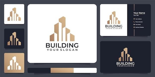 기업 회사를 위한 독특한 부동산 로고 구축