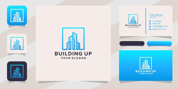 Building up logo and business card