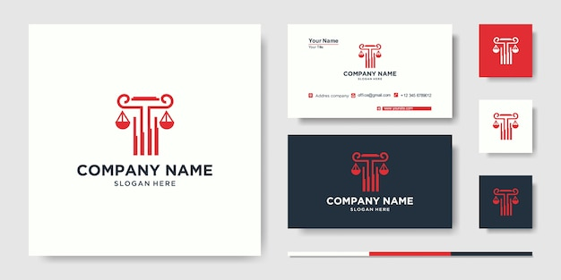 Building with line concept. city building abstract for logo inspiration. business card design