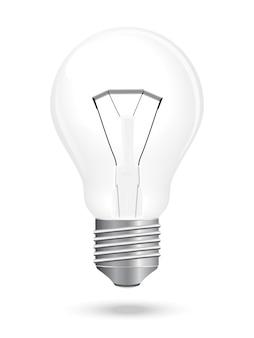 Bulb lamp vector