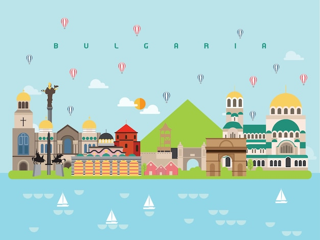Bulgaria famous landmarks