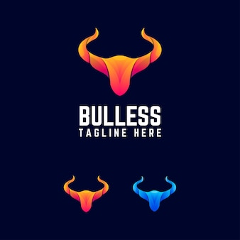 Бык абстрактный логотип