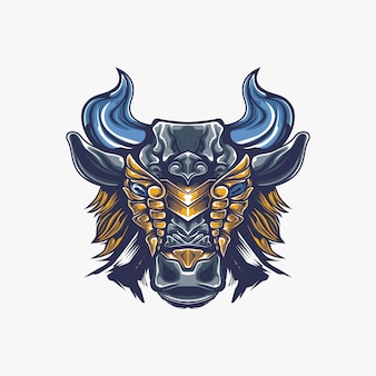 Bull artwork illustration