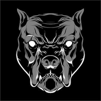 Собака быка