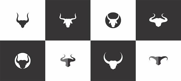 Бык голова логотип