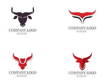 Bull horn logo