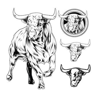 Иллюстрация быка