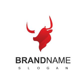 Bull logo farm  cattle and esport team symbol