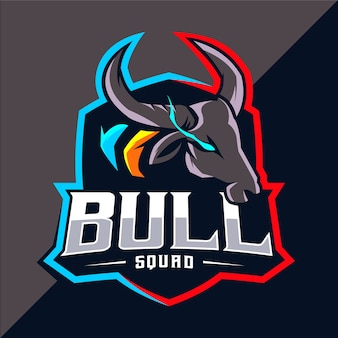Логотип талисмана быка