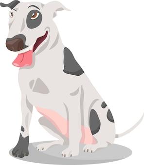 Иллюстрация бультерьера собаки бультерьера