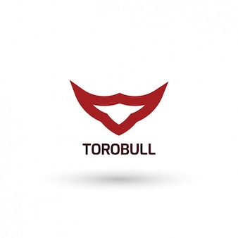 Bull шаблон логотипа