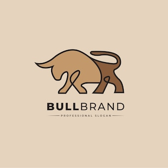 Логотип bull