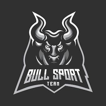 Логотип спортивной команды bull