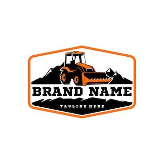 ブルドーザーのロゴ