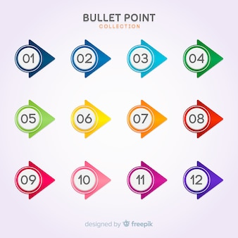 Bullet point collection