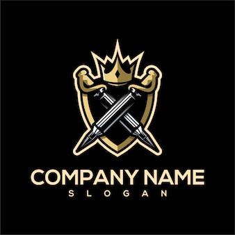 Bullet sword logo