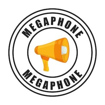 Графический дизайн bullhorn или мегафона