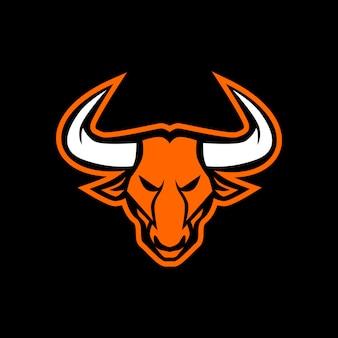Bulls head mascot