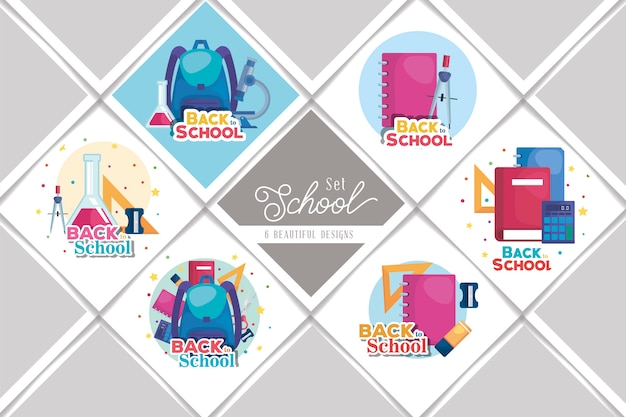Bundle back to school set