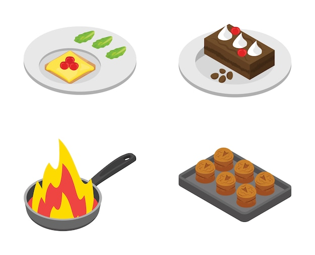 Bundle of cooking icons