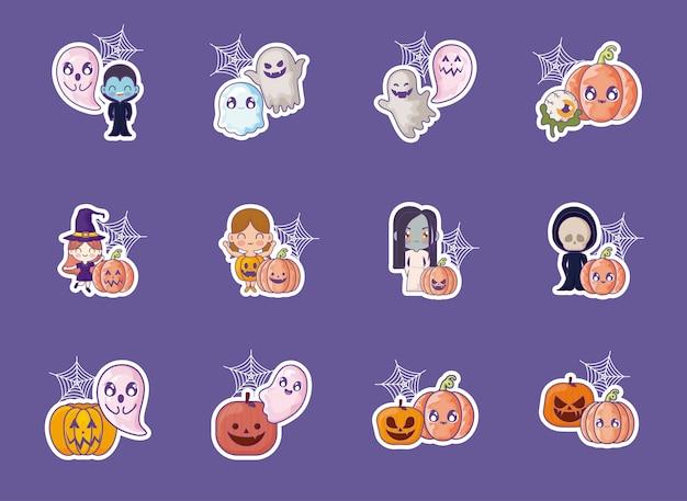 Bundle halloween с набором иконок