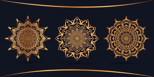 Bundle роскошный дизайн мандалы