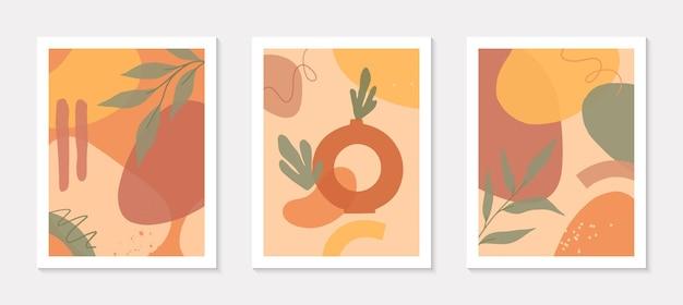 꽃병으로 예술 현대 삽화의 번들