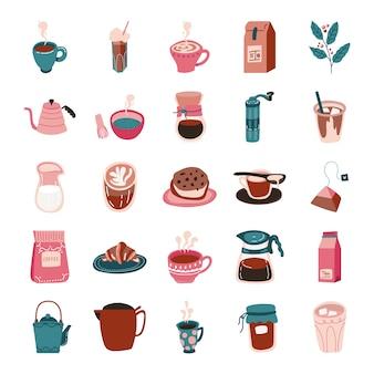 Пачка кофе и чая в свободной форме