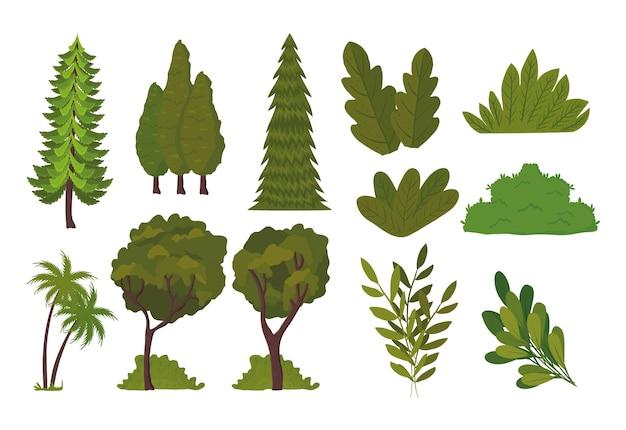 Пачка ландшафтного дизайна иконок