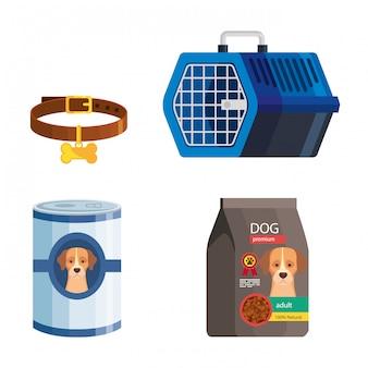 애완 동물 상점 요소 묶음