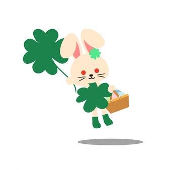Bunny costume character