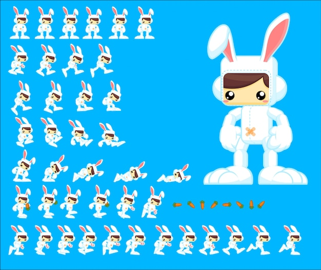 Bunny game character