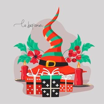 ブオナベファーナはイタリアの幸せなエピファニークリスマスの伝統を意味します