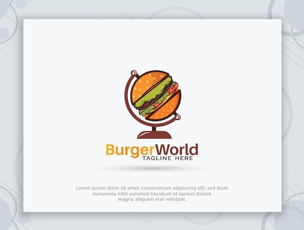 Дизайн логотипа бургер хаус