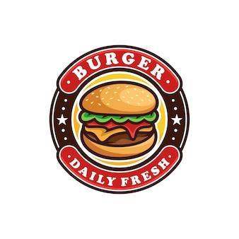 Burger 로고 벡터 아트 디자인