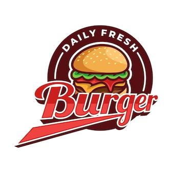 Burger logo vector art design