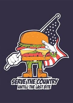 Burger patriot