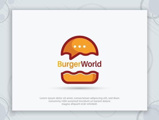 Дизайн логотипа бургер-шоп