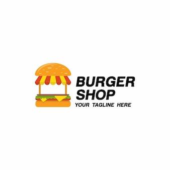 Логотип burger shop