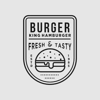 Burger vintage shop