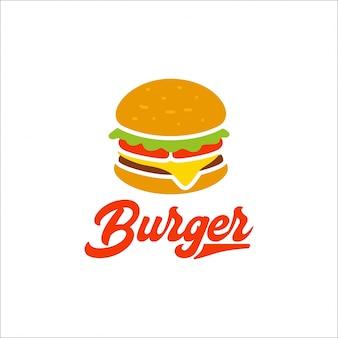 Шаблон логотипа burger