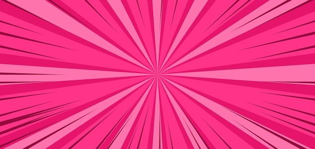 Взрыв розовый мультфильм комикс фон