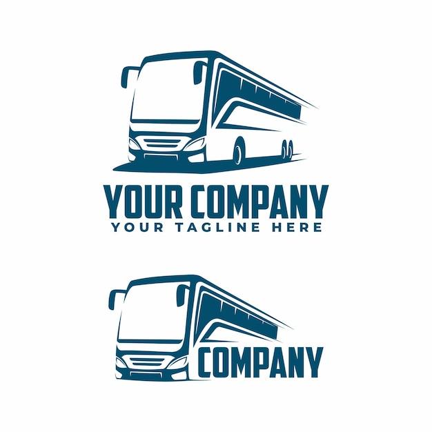 Абстрактный логотип автобуса