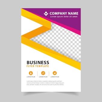 Busines Brochure Flyer design in a4 template