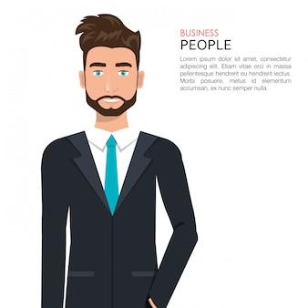 Busines people design