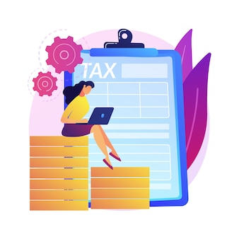 Business advisor. successful entrepreneur. business investment. accountant with laptop cartoon character. accounting, bookkeeping, savings account.  isolated concept metaphor illustration